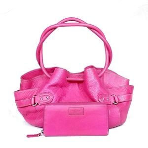 COLE HAAN 2 PC Pink Pinach
